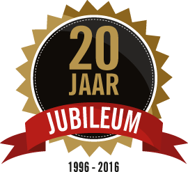 20-JARIG JUBILEUM