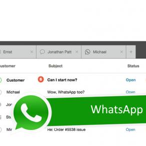 Support bereikbaar Whatsapp